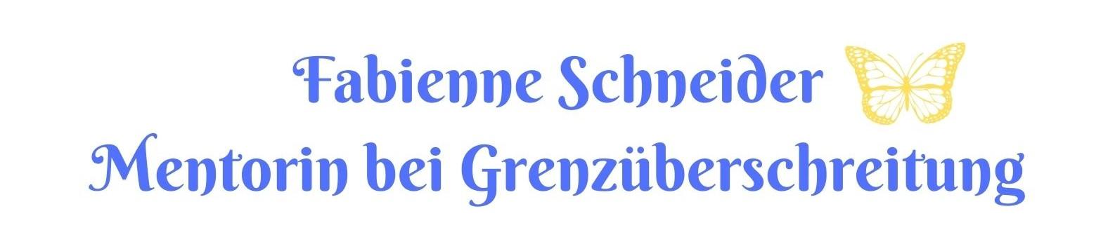 Fabienne Schneider Mentorin bei Grenzüberschreitungen